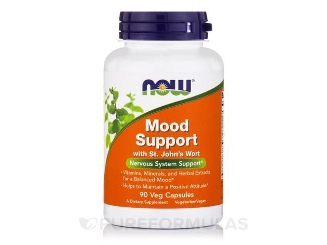 Mood Support with St. John's Wort - 90 Vegetable Capsules by NOW