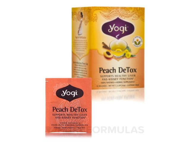 Peach DeTox Tea - 16 Tea Bags by Yogi Tea