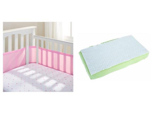 Breathable Baby Crib Bumper and Full Length Waterproof