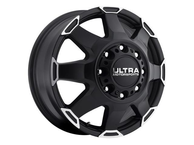 Ultra Wheel 025-7681Fsb 025 17X6.5 8-6.5Black