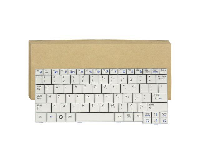 New For Samsung NP-130 NP-N110 NC310 ND10 N110 US Keyboard White Teclado Series Laptop Notebook Accessories Replacement Parts Wholesale QWERTY