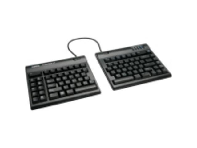 Kinesis Freestyle2 Keyboard For Pc - Cable - Black - Usb -