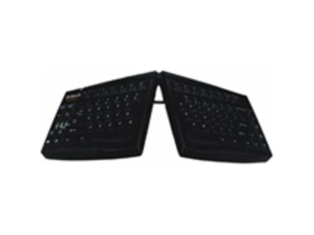 Goldtouch Ergonomic Adjustable Keyboard Black Pc Usb By