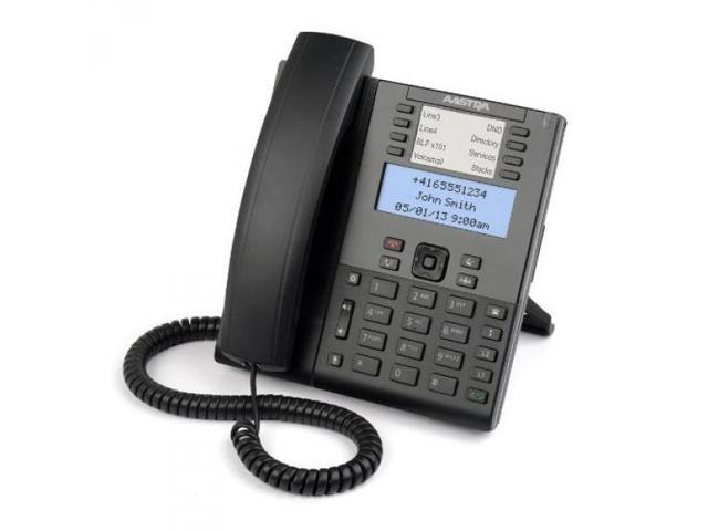 6865i Sip Phone Mid Range Poe 2xgige