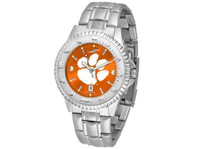 NCAA Men's Clemson Tigers Competitor Steel AnoChrome Watch