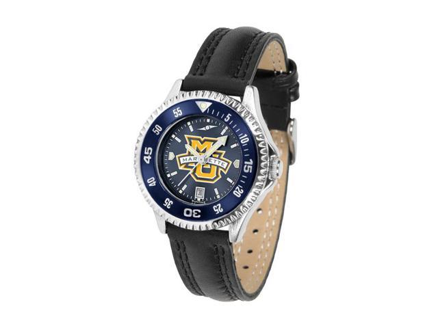 NCAA Marquette Golden Eagles Competitor Ladies' AnoChrome Color Bezel Watch