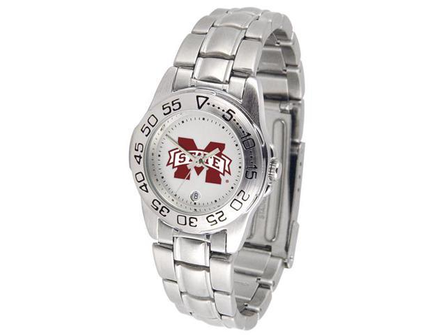 NCAA Mississippi State Bulldogs Ladies' Sport Steel Watch