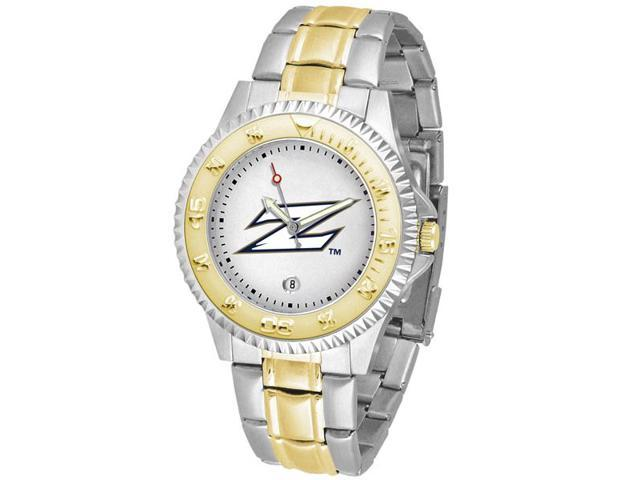 NCAA Men's Akron Zips Competitor Two-Tone Watch