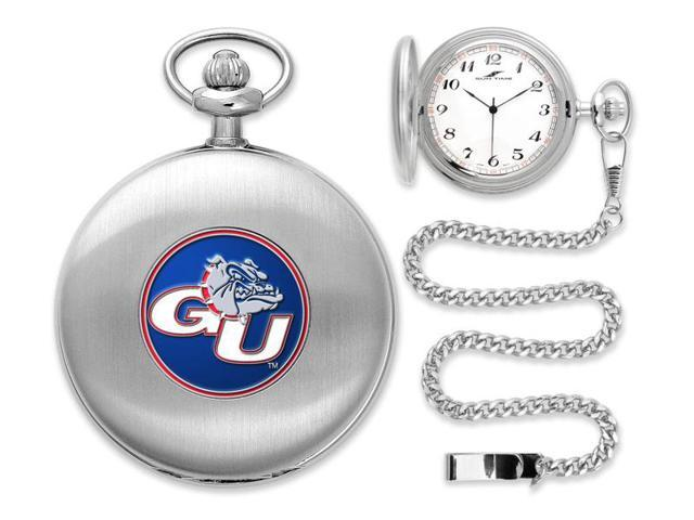 NCAA Men's Gonzaga Bulldogs Pocket Watch Silver