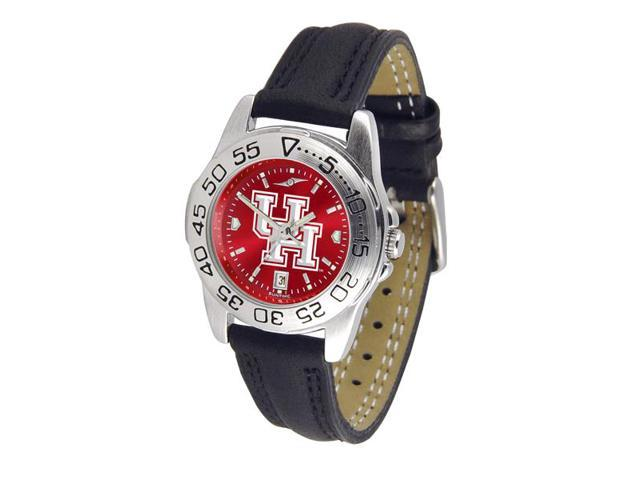 NCAA Houston Cougars Ladies' Sport AnoChrome Watch