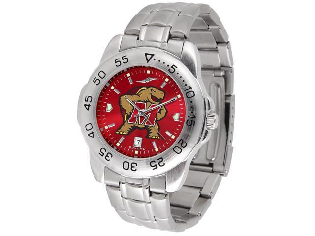 NCAA Men's Maryland Terrapins Sport Steel AnoChrome Watch