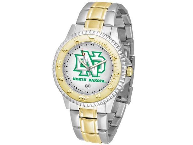 NCAA Men's North Dakota Fighting Hawks Competitor Two-Tone Watch