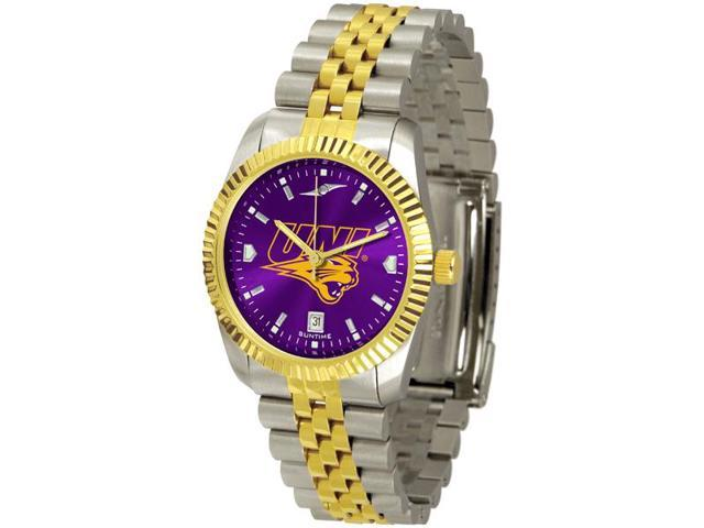 NCAA Men's Northern Iowa Panthers Men's Executive AnoChrome Watch