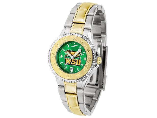 NCAA Wright State Raiders Competitor Ladies' Two-Tone AnoChrome Watch