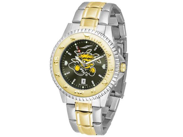 NCAA Men's Wichita State Shockers Competitor Two-Tone AnoChrome Watch