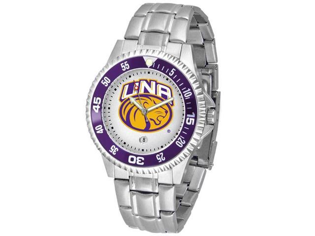 NCAA Men's North Alabama Lions Competitor Steel Watch