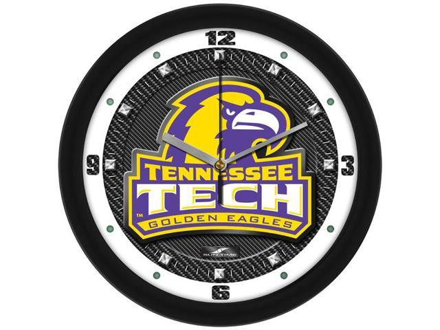 NCAA Tennessee Tech Eagles Carbon Fiber Textured Wall Clock