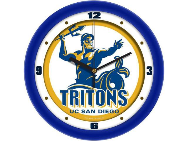 NCAA California San Diego Tritons Traditional Wall Clock