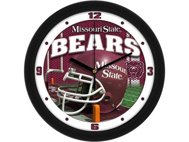 NCAA Missouri State Bears Football Helmet Wall Clock