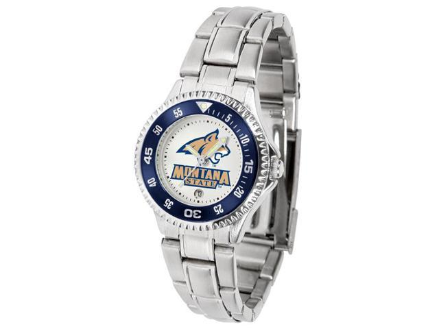 Montana State University Ladies Stainless Steel Watch