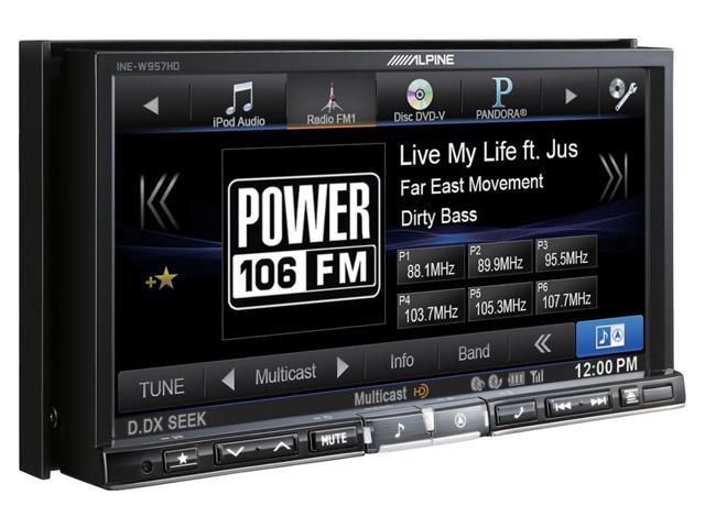 Alpine INE-W957HD 7-Inch Audio/Video/Navigation System