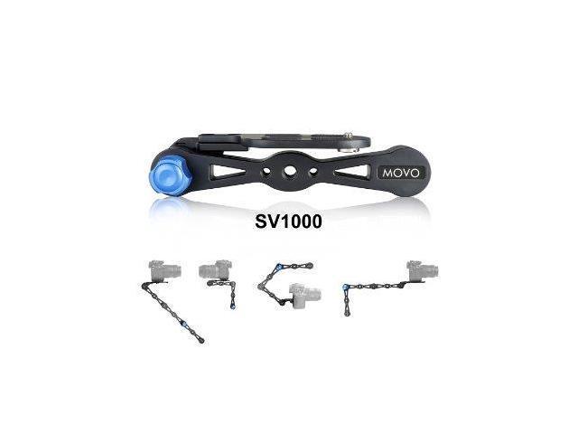 movo sv1k sp aluminum combo shoulder rig selfie stick handheld stabilizer. Black Bedroom Furniture Sets. Home Design Ideas