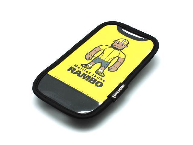 BM WORKS Skin M Yellow Smartphone Bike Mount for iPhone 5S, 5C, 5, 4S, 4, 3G