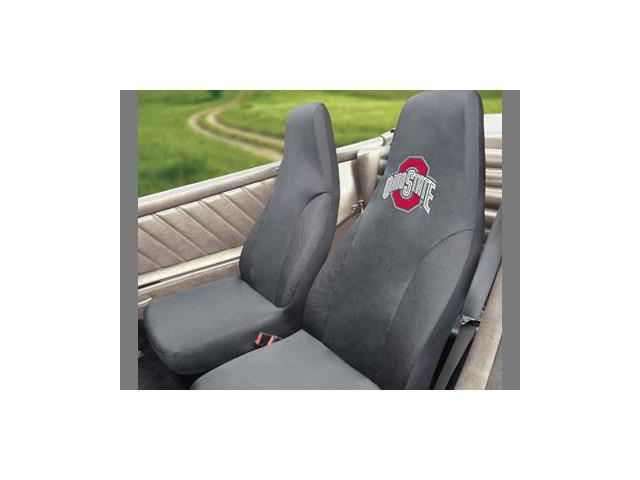 fanmat ohio state embroidered car seat cover each. Black Bedroom Furniture Sets. Home Design Ideas