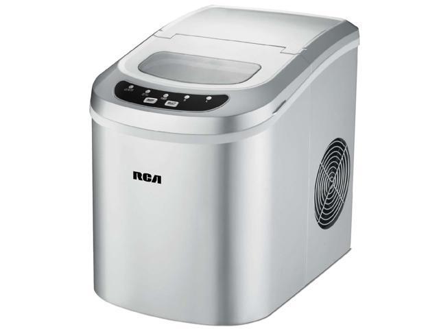 Refurbished: RCA RIC102-Silver Compact Ice Maker, Silver - Newegg.com