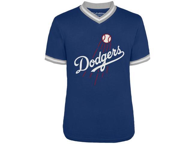 los angeles dodgers logo eephus  neck jersey  shirt neweggcom