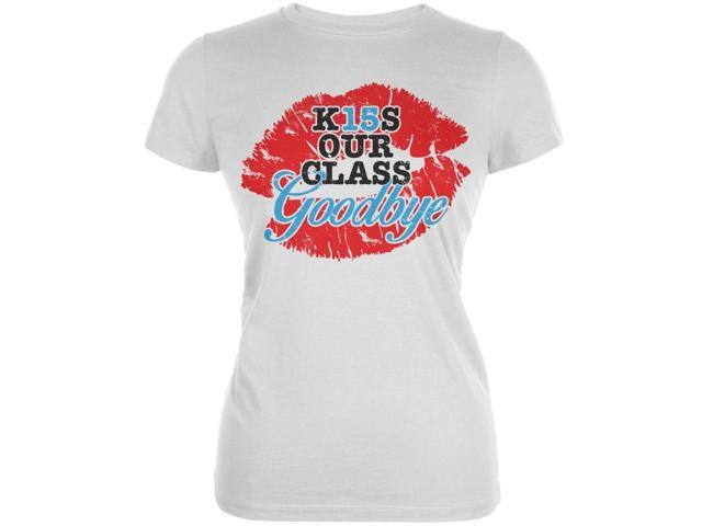 Graduation K15S Our Class Goodbye White Juniors Soft T-Shirt