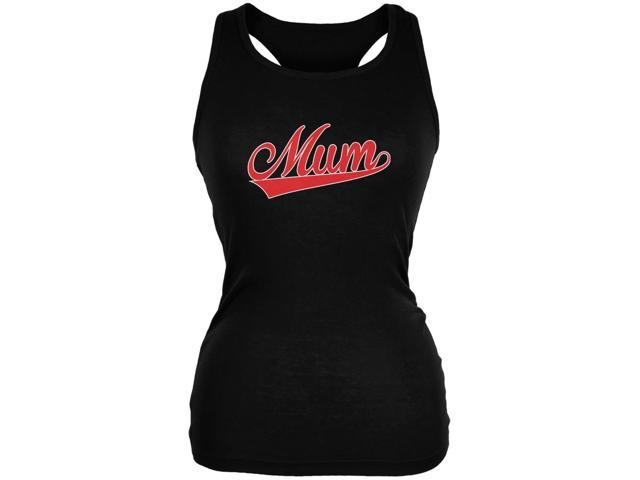 Mothers Day - Mum Black Juniors Soft Tank Top