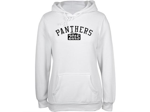 Graduation - Panthers 2015 White Juniors Soft Hoodie