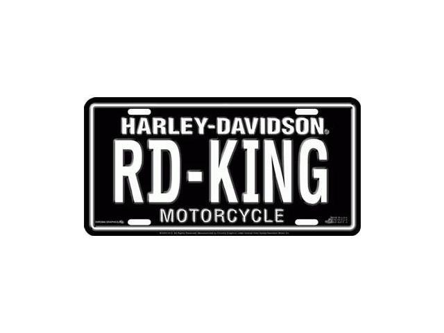Harley-Davidson Road-King License Plate