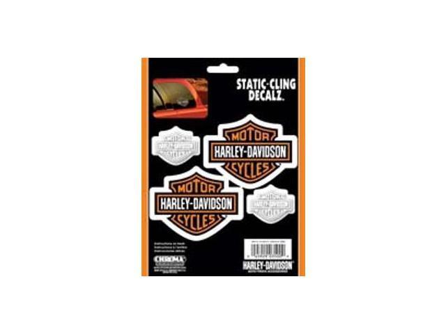 Harley-Davidson Bar & Shield 4 Decals