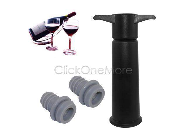 Foodsaver T000 00845 Winesaver Preservation System Black