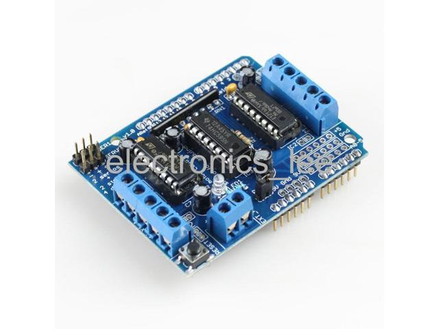Motor drive shield expansion board l d w reset button