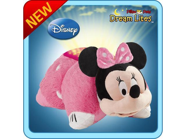 authentic pillow pets minnie mouse dream lites toy gift. Black Bedroom Furniture Sets. Home Design Ideas