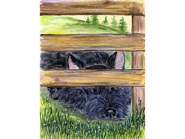 Scottish Terrier Flag Garden Size