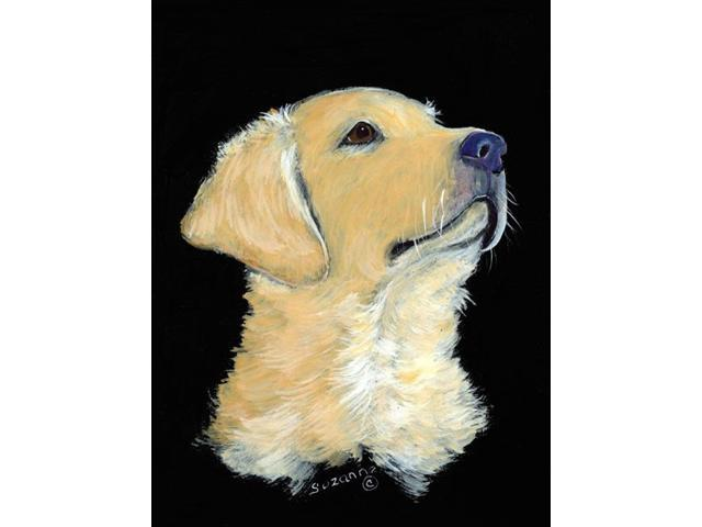 Golden Retriever Flag Garden Size