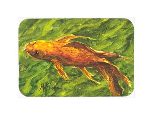 Fish koi kitchen or bath mat 20x30 for Fish bath mat