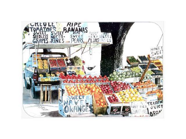 Fruit Stand Kitchen Or Bath Mat 20x30 8054