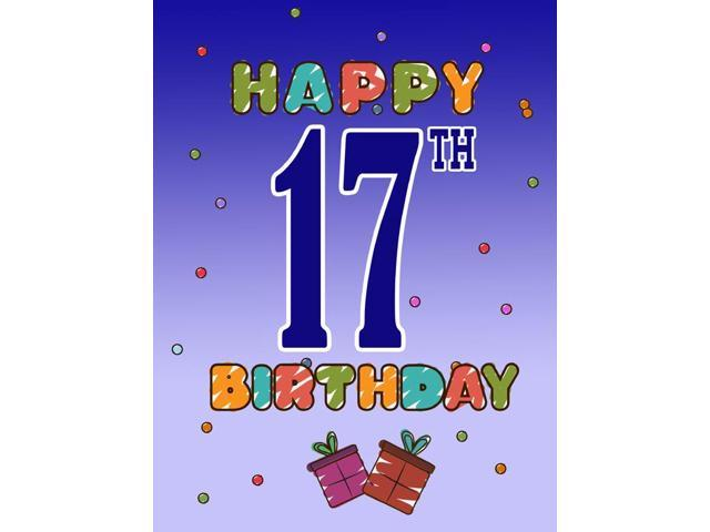 Carolines Treasures CJ1108GF Happy 17Th Birthday Flag Garden Size