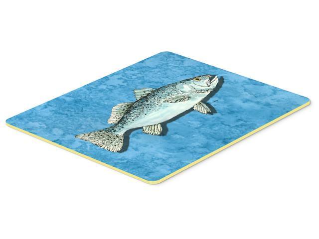 Fish trout kitchen or bath mat 24x36 for Fish bath mat