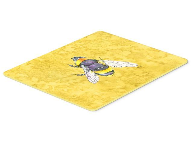 Bee on yellow kitchen or bath mat 24x36 - Yellow kitchen floor mats ...