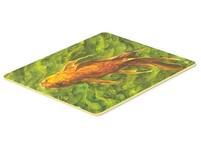 Fish koi kitchen or bath mat 24x36 for Fish bath mat