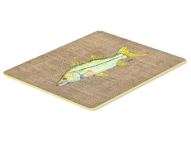 Fish snook kitchen or bath mat 24x36 for Fish bath rug