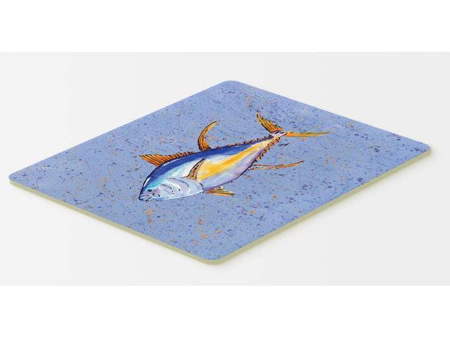 Tuna fish kitchen or bath mat 20x30 for Fish bath mat