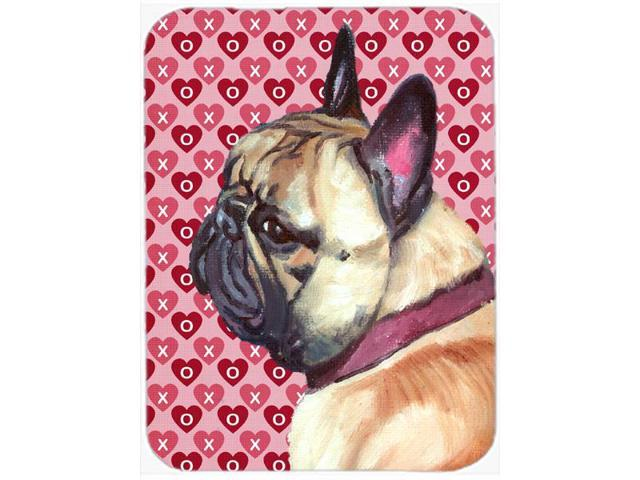 French Bulldog Frenchie Hearts Love and Valentine's Day Mouse Pad, Hot Pad or Trivet LH9566MP