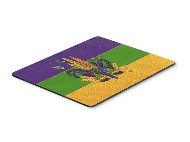 Mardi Gras Mask Mouse Pad, Hot Pad or Trivet
